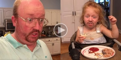 Hilarious Dad Face Swaps His Kids and Ruthlessly Critiques His Own Meal