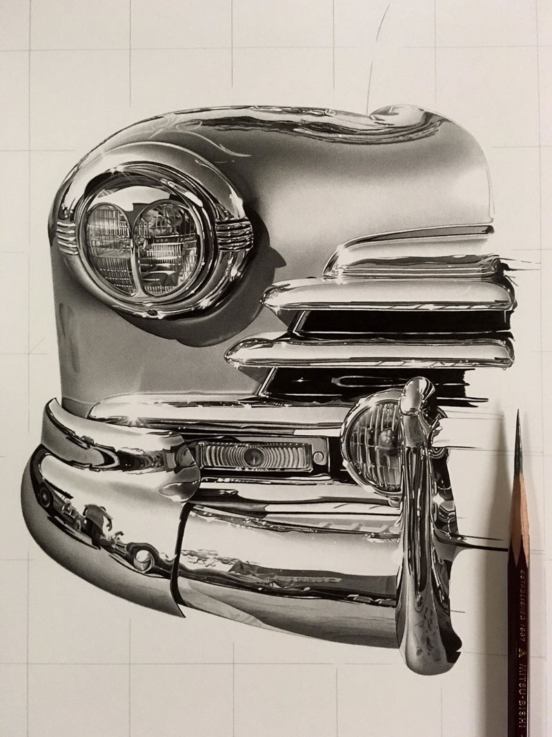 hyper realistic pencil drawings by japanese artist kohei ohmori 6 Highly Detailed Close Ups of Amazing Hyper Realistic Pencil Drawings