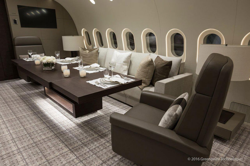 inside private boeing 787 8 dreamliner 1 Inside the Worlds Only Private 787 Dreamliner (10 Photos)