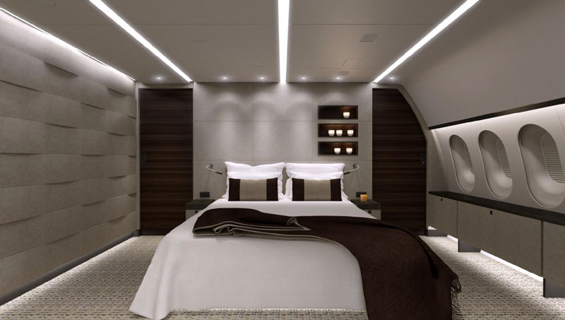 inside private boeing 787 8 dreamliner 10 Inside the Worlds Only Private 787 Dreamliner (10 Photos)