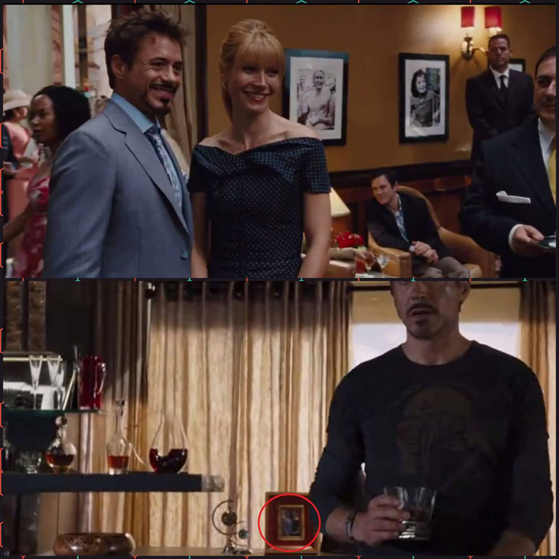 iron man 2 avengers photo same frame 10 Obscure Movie Details You Probably Missed or Never Knew