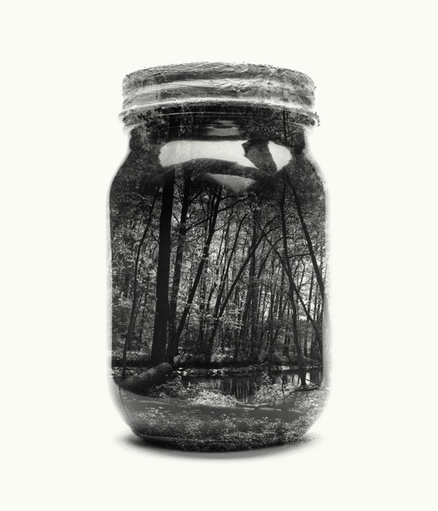 jarred and displaced by christoffer relander 12 Bottled Memories of Childhood Landscapes Using Double Exposure Photography