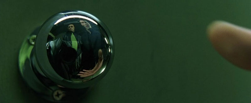 matrix doorknob camera shot easter egg 10 Obscure Movie Details You Probably Missed or Never Knew