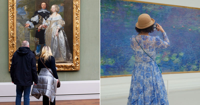 25 Times People Matched the Painting They Were Looking At