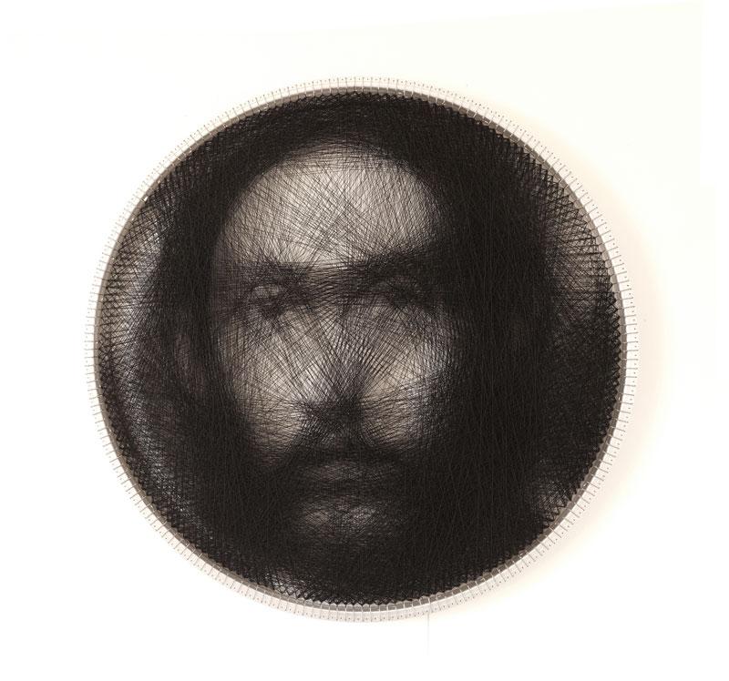 renaissance portraits made from single thread on circular loom 2 Renaissance Portraits Made From Single Thread on Circular Loom