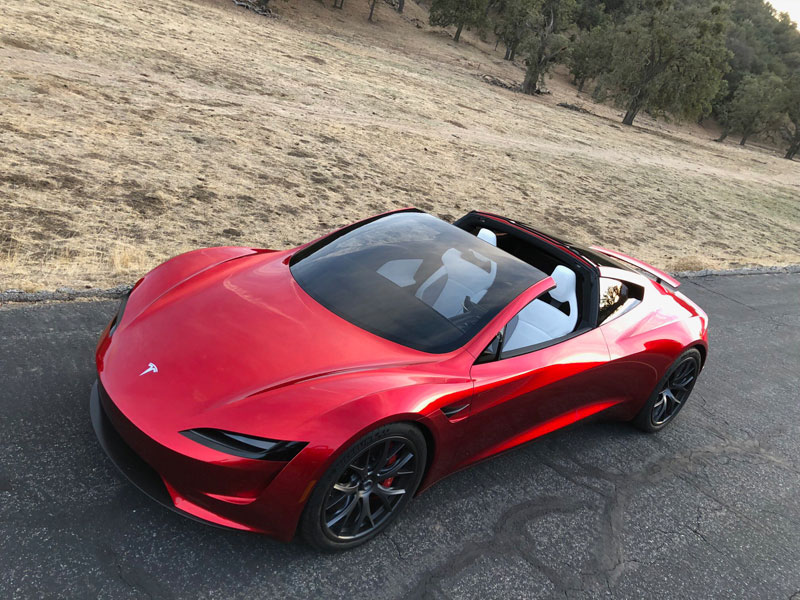 Tesla roadster weight