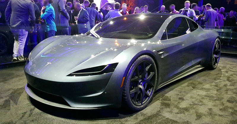 The Specs for Tesla's New Roadster are Bananas