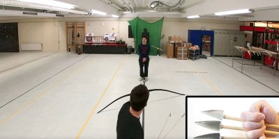 Viral Archer Lars Andersen is Back and Curving Arrows AroundPeople