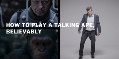 How Andy Serkis Plays a Talking Ape Believably