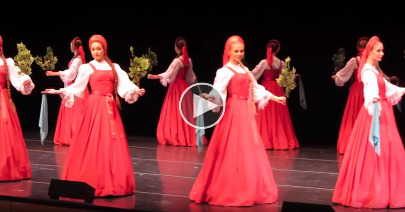 Berezka The Hypnotizing Russian Folk Dance Where The