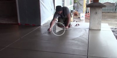 This Video on Concrete Finishing Will Give You an Appreciation forCraftsmanship
