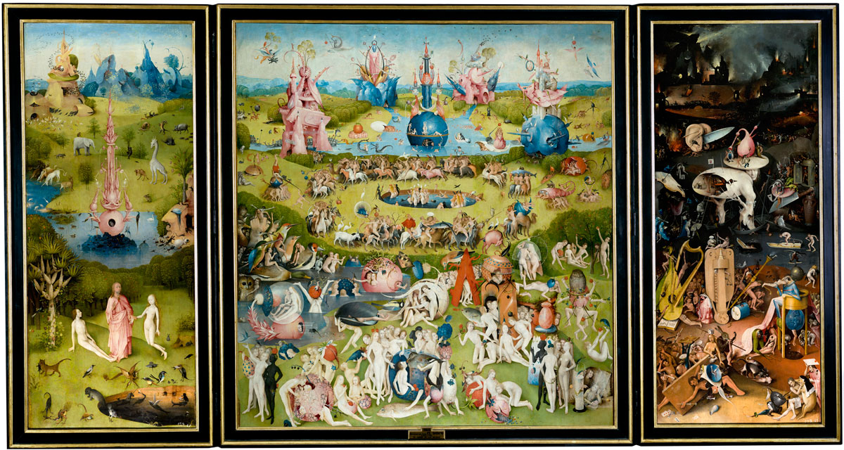 hieronymus bosch   the garden of earthly delights 2 Paradise: A Modern Day Interpretation of the Garden of Earthly Delights
