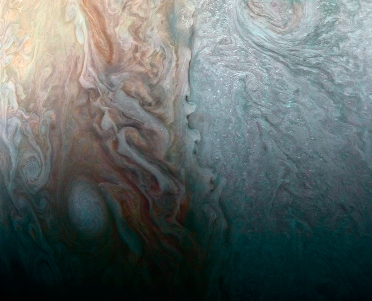 jupiter up close looks like a van gogh painting 1 Jupiter Up Close Looks Like a Van Gogh Painting (10 Photos)