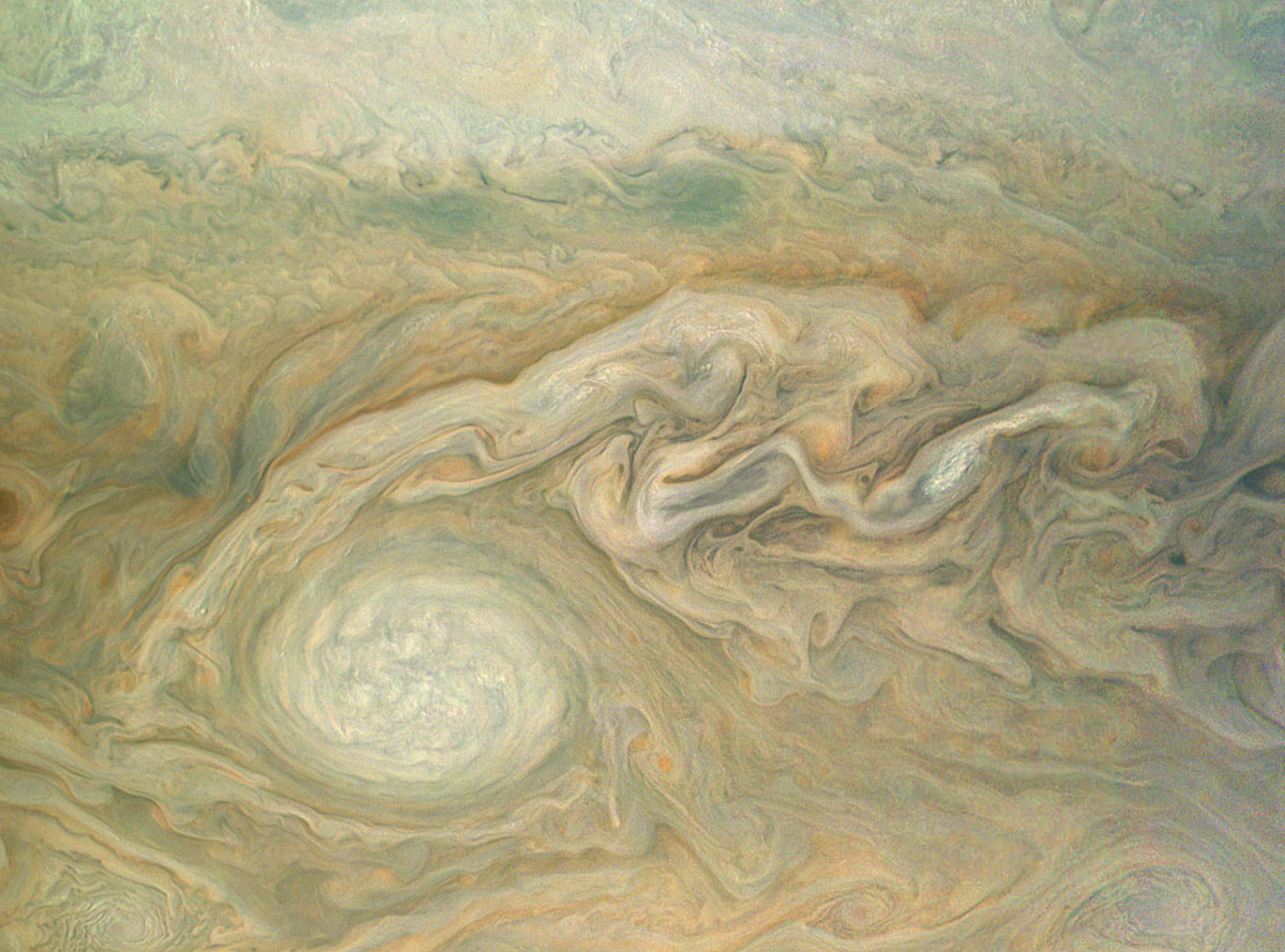 jupiter up close looks like a van gogh painting 2 Jupiter Up Close Looks Like a Van Gogh Painting (10 Photos)