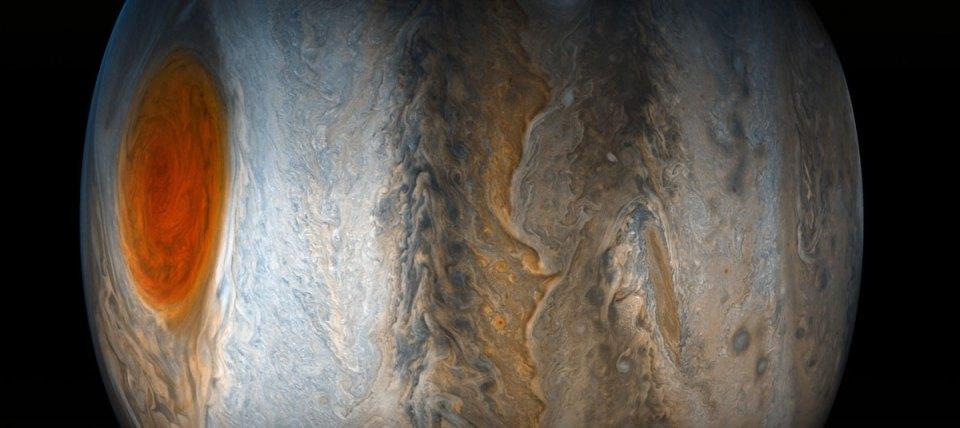 jupiter up close looks like a van gogh painting 6 Jupiter Up Close Looks Like a Van Gogh Painting (10 Photos)