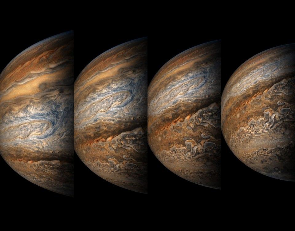 jupiter up close looks like a van gogh painting 7 Jupiter Up Close Looks Like a Van Gogh Painting (10 Photos)