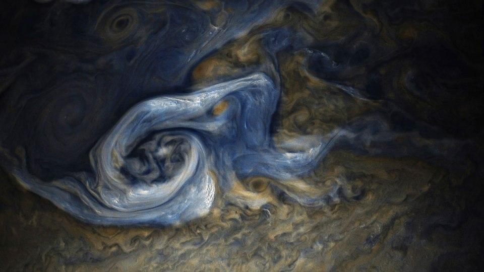 jupiter up close looks like a van gogh painting 9 Jupiter Up Close Looks Like a Van Gogh Painting (10 Photos)