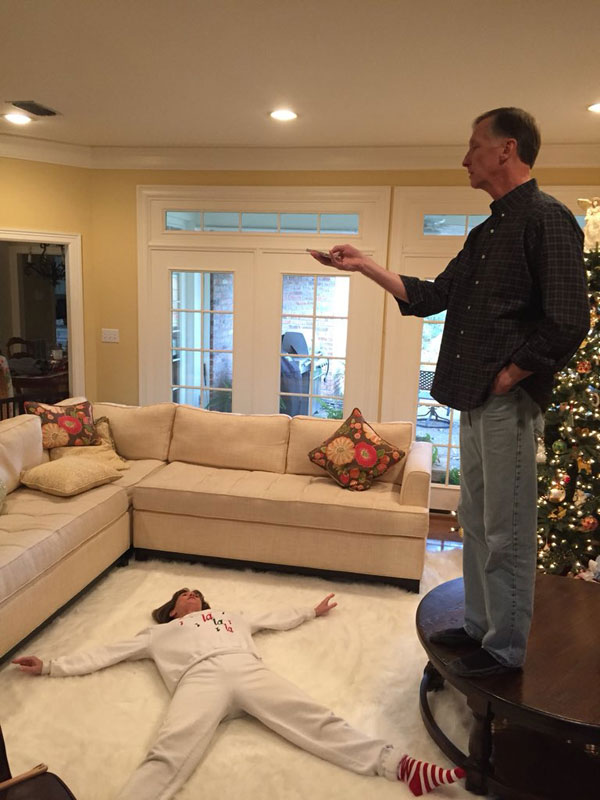 Guy shares hilarious lesson on love from his parents and it goes viral twistedsifter for I ve been seeing angels in my living room