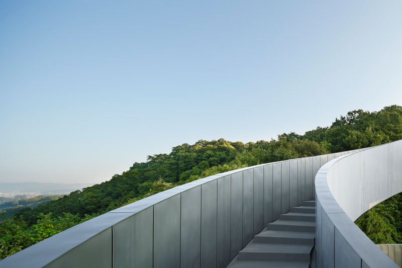 ribbon chapel by hiroshi nakamura and nap architects 11 This Award Winning, Ribbon Wedding Chapel in Japan is Breathtaking
