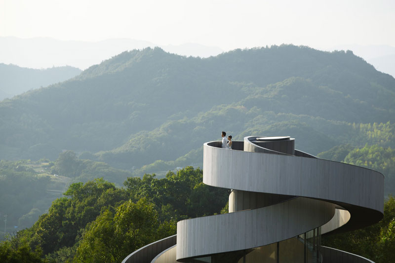 ribbon chapel by hiroshi nakamura and nap architects 7 This Award Winning, Ribbon Wedding Chapel in Japan is Breathtaking
