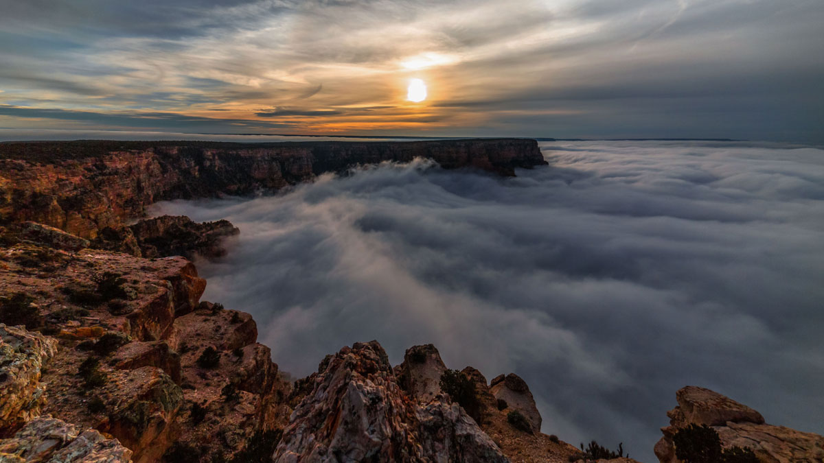 skyglow project harun mehmedinovic kaibab requiem 1 Amazing Things Happen at the Grand Canyon and this Timelapse Captures Them Beautifully