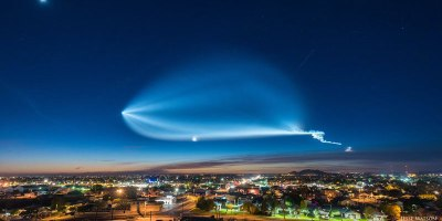 This Amazing SpaceX Rocket Timelapse Shows Why People Thought They Saw a UFO