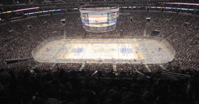 Amazing Staples Center Timelapse Shows 6 Playoff Games in 4 Days