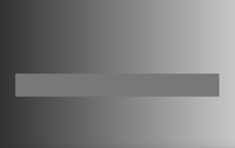 the gray bar is a single shade of gray 1 This Horizontal Bar is a Single Shade of Gray