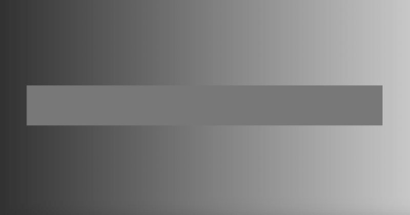 This Horizontal Bar is a Single Shade of Gray