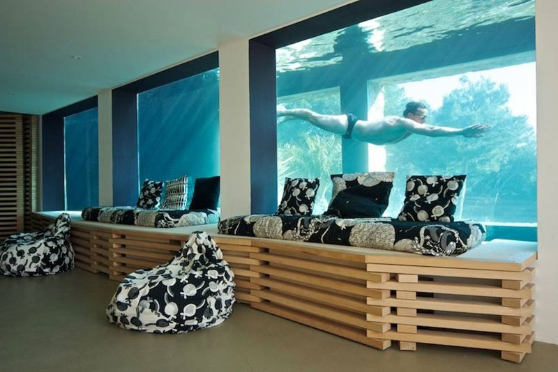 This Airbnb in the South of France Comes with a 91-Foot Aquarium