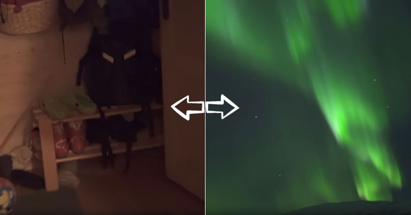 What It's Like to Just Wake up, Walk Outside, and See the NorthernLights