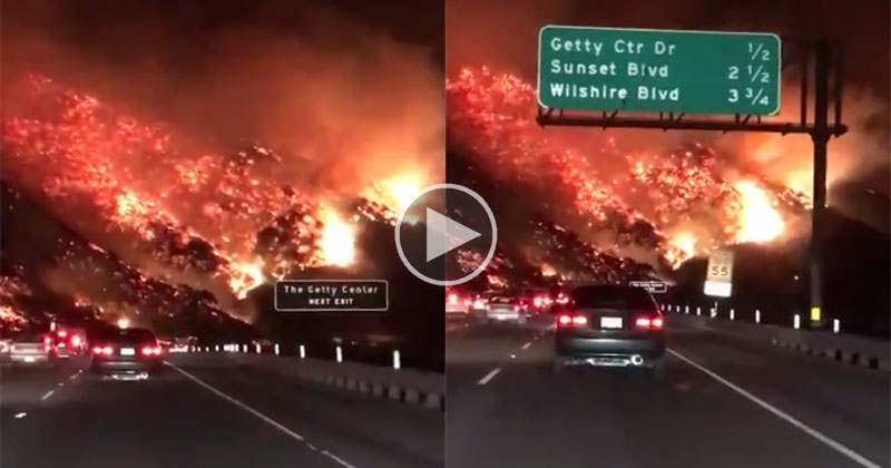 wildfire la freeway december 6 cover The Morning Commute in LA Yesterday Was Crazy