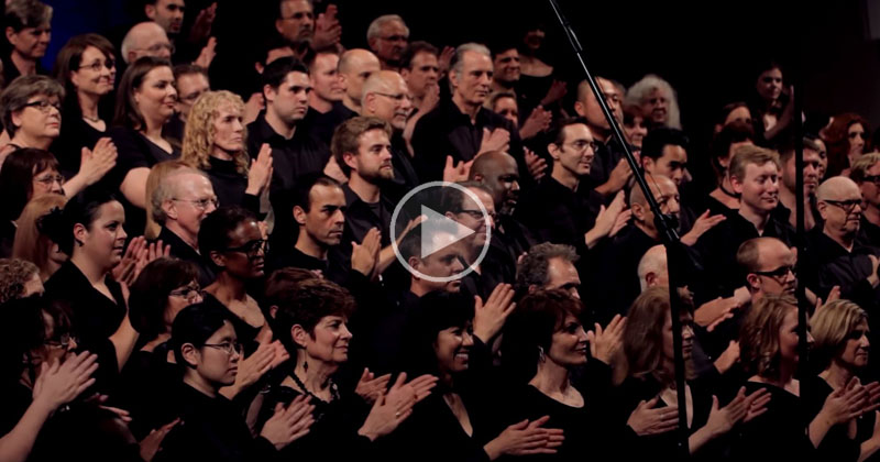 Choir Perfectly Mimics Rainstorm Before a Stirring Rendition of 'Africa' byToto