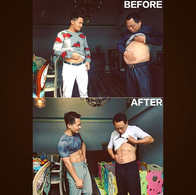 father and son decide to get in shape together 7 Father and Son Decide to Get in Shape Together (9 Pics)