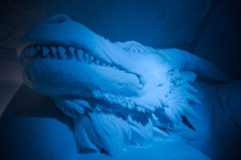 game of thrones ice hotel lapland finland 1 A Game of Thrones Ice Hotel Just Opened and It Looks Unreal