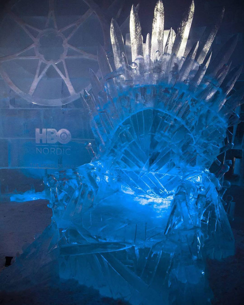 game of thrones ice hotel lapland finland 2 A Game of Thrones Ice Hotel Just Opened and It Looks Unreal
