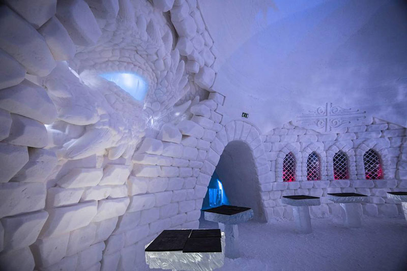 game of thrones ice hotel lapland finland 3 A Game of Thrones Ice Hotel Just Opened and It Looks Unreal