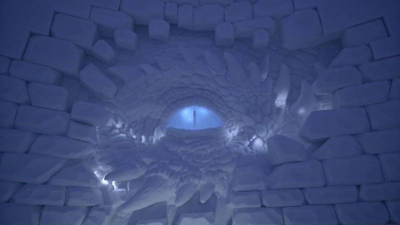 game of thrones ice hotel lapland finland 4 A Game of Thrones Ice Hotel Just Opened and It Looks Unreal