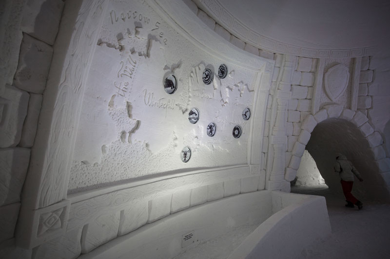 game of thrones ice hotel lapland finland 6 A Game of Thrones Ice Hotel Just Opened and It Looks Unreal