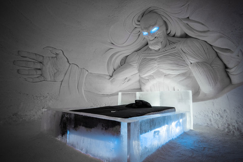 game of thrones ice hotel lapland finland 7 A Game of Thrones Ice Hotel Just Opened and It Looks Unreal