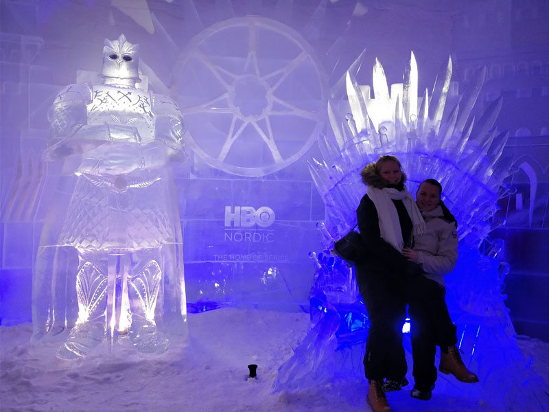 game of thrones ice hotel lapland finland 9 A Game of Thrones Ice Hotel Just Opened and It Looks Unreal