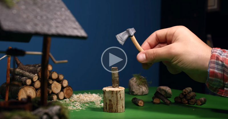 This Guy Shot, Sculpted and Edited this Entire Stop Motion Animation in His Bedroom