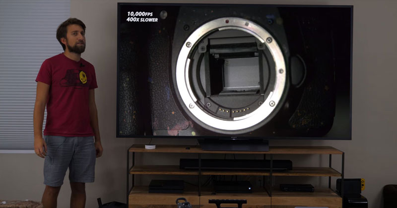 How a TV Works in Slow Motion