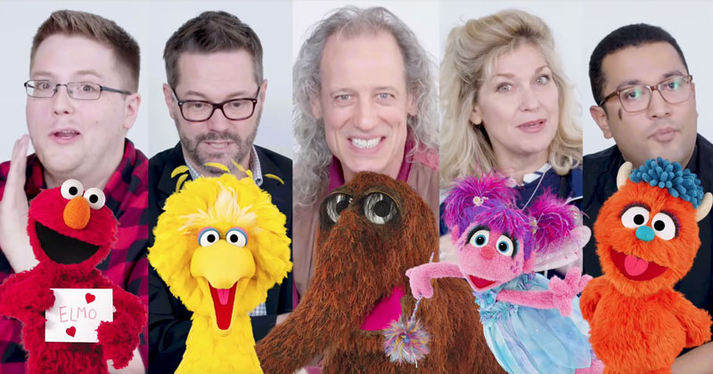 How Sesame Street Puppeteers Control Their Puppets