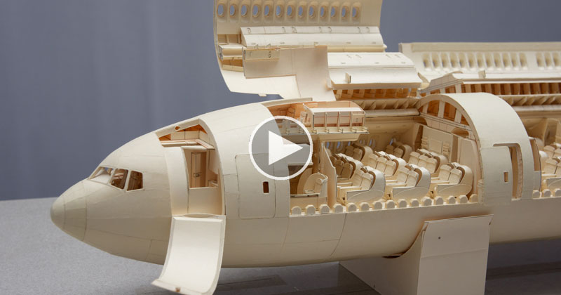 Inside the World's Most Complex PaperAirplane