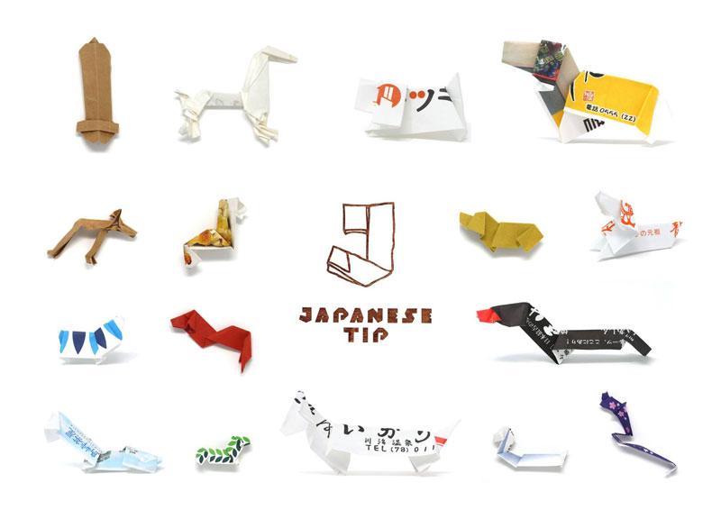 japanese tip yuki tatsumi 12 Meanwhile in Japan: An Exhibit of Chopstick Sleeve Art Left Behind at Restaurants