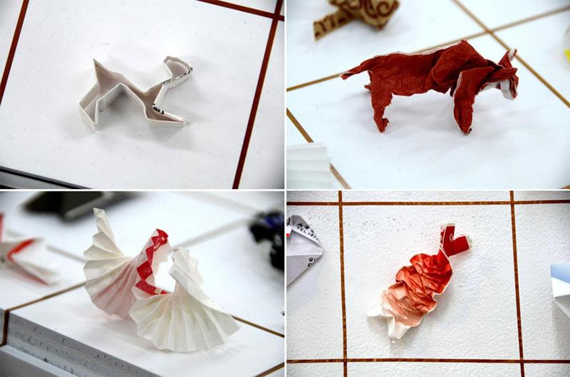 japanese tip yuki tatsumi 8 Meanwhile in Japan: An Exhibit of Chopstick Sleeve Art Left Behind at Restaurants