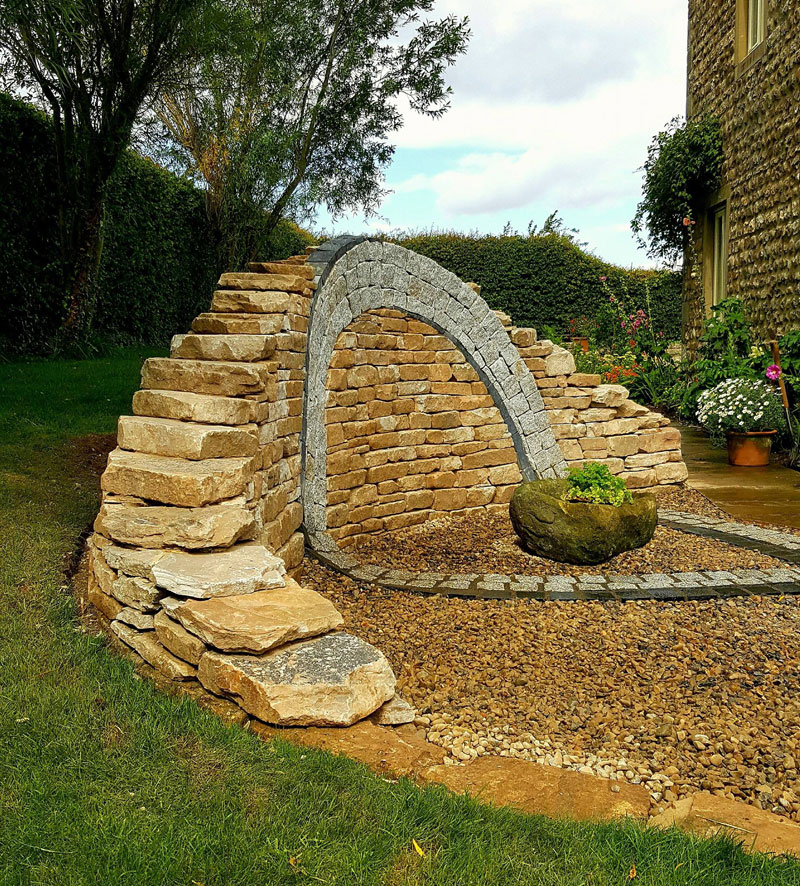 johnny clasper stonework art 16 Johnny Clasper Carefully Places Stones to Create Amazing Works of Art
