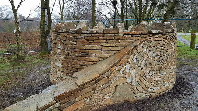 johnny clasper stonework art 3 Johnny Clasper Carefully Places Stones to Create Amazing Works of Art