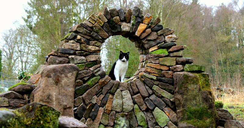 Johnny Clasper Carefully Places Stones to Create Amazing Works of Art